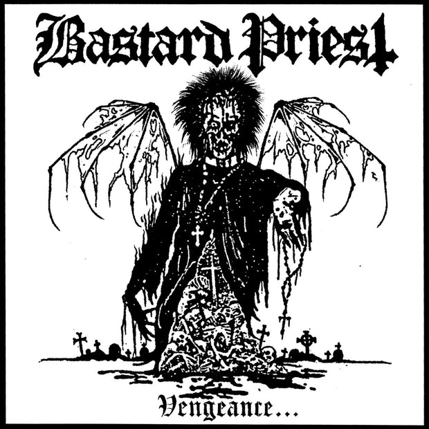 Bastard Priest - Vengeance…Of The Damned 12""