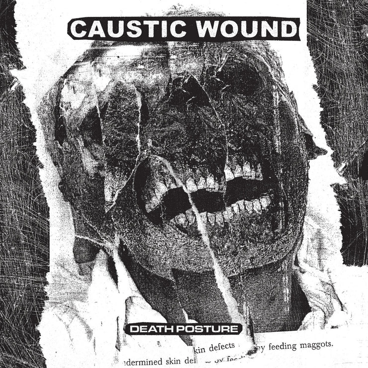 Caustic Wound - Death Posture CD