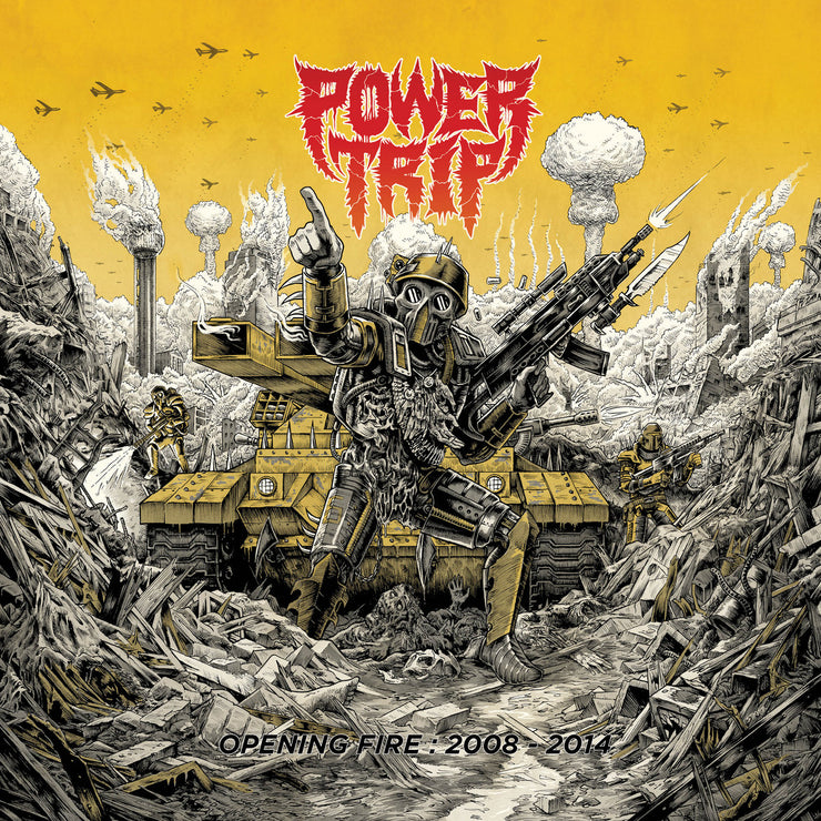 Power Trip - Opening Fire: 2008-2014 CD