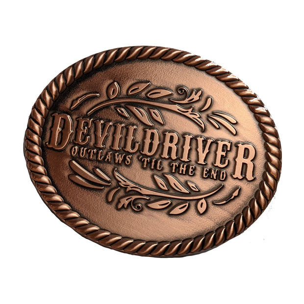 DevilDriver - Outlaws Til The End Belt buckle