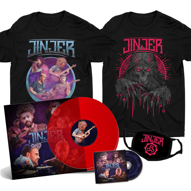Jinjer - Alive In Melbourne - Build Your Bundle *PRE-ORDER*