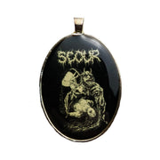 Scour- Logo/Clot necklace