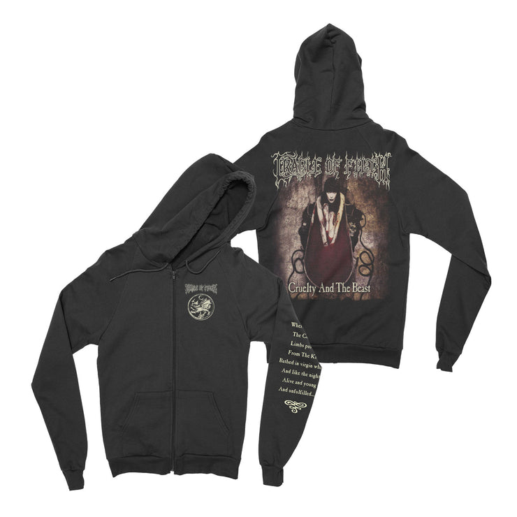 Cradle Of Filth - Cruelty And The Beast zip-up hoodie