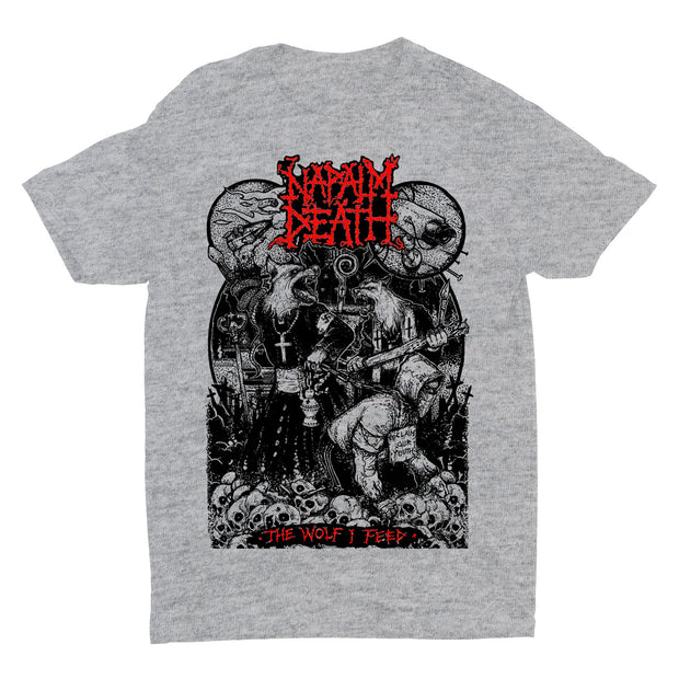 Napalm Death - Wolf I Feed t-shirt