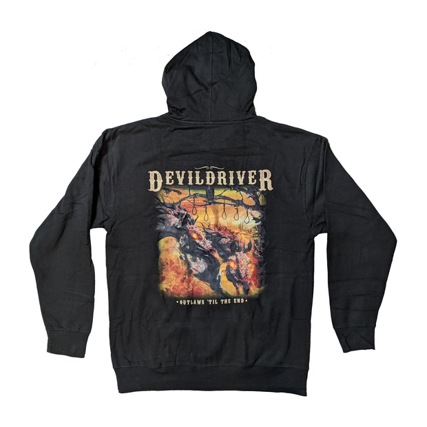 DevilDriver - Outlaws Til The End Zip-UP hoodie