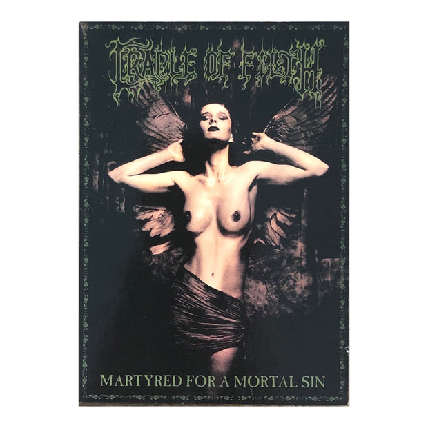 Cradle Of Filth - Martyred For Mortal Sin postcard