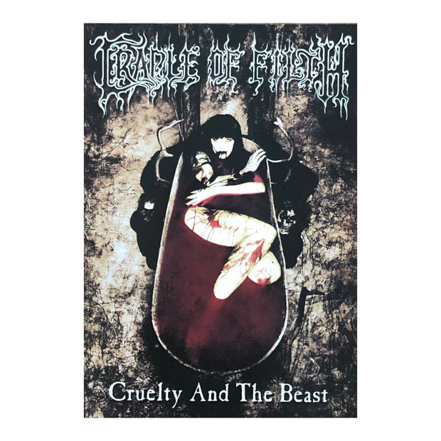 Cradle Of Filth - Cruelty And The Beast postcard