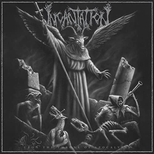 Incantation - Upon The Throne of Apocalypse 12""