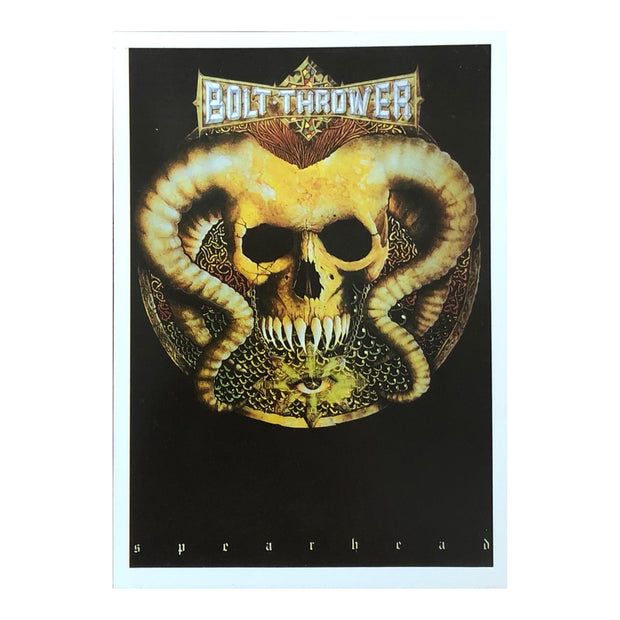 Bolt Thrower - Spearhead postcard
