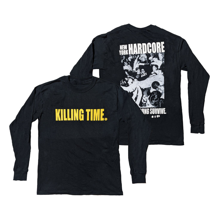 Killing Time - Only The Strong Survive long sleeve