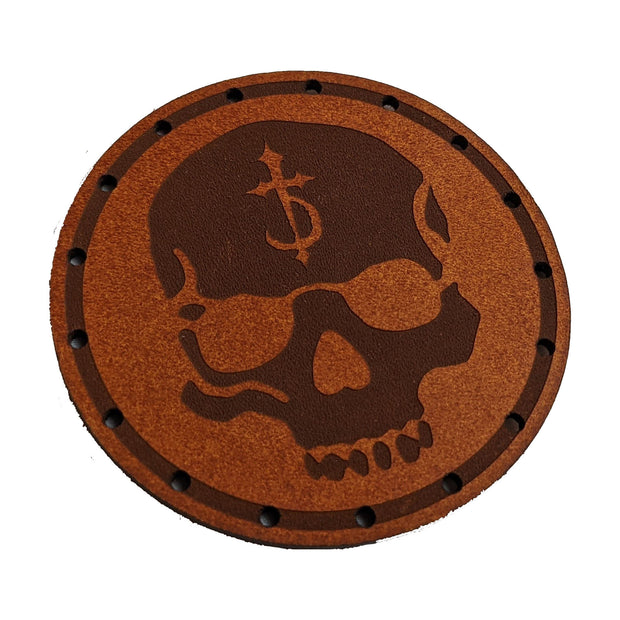 DevilDriver - Skull Leather patch