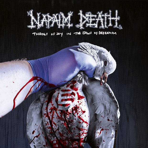 Napalm Death - Throes Of Joy In The Jaws Of Defeatism 12""