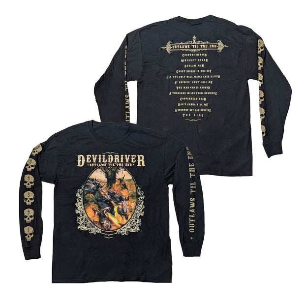 DevilDriver - Outlaws Til The End long sleeve