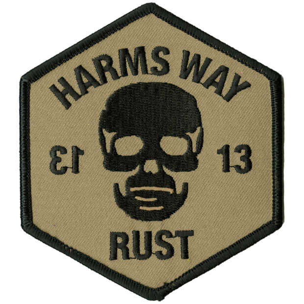 Harms Way - Rust patch