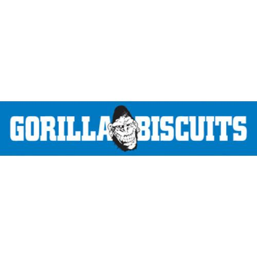 Gorilla Biscuits - Logo sticker