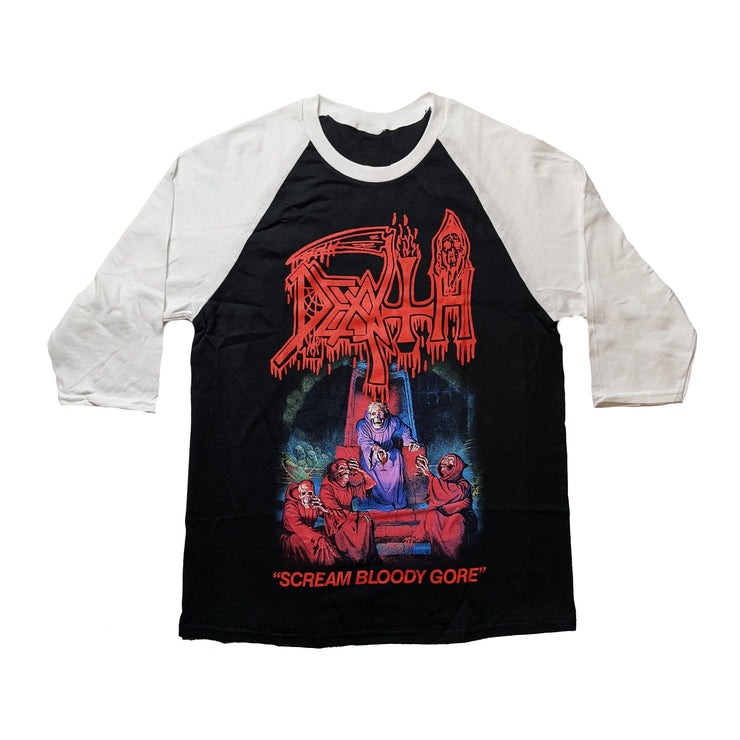 Death - Scream Bloody Gore raglan