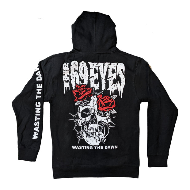 The 69 Eyes - Skull zip-up hoodie