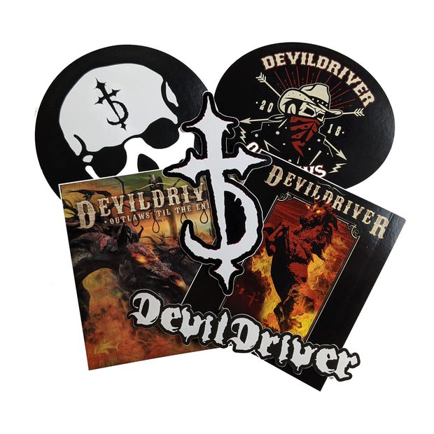 DevilDriver - Outlaws Til The End sticker pack