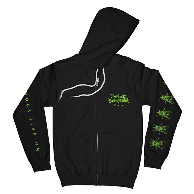 The Black Dahlia Murder - Verminous zip-up hoodie