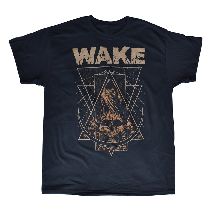 Wake - Crescent Skull t-shirt