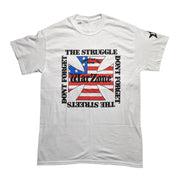Warzone - Don't Forget The Struggle Don't Forget The Streets t-shirt