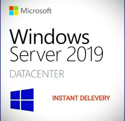 Windows Server 2019 DataCenter License - Product Key Global - Unlimited Cores