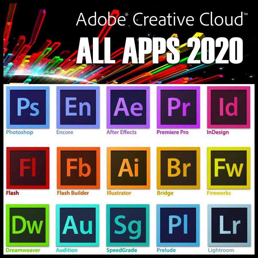 Adobe Creative Cloud 1 Year Subscription All Apps Annual Plan