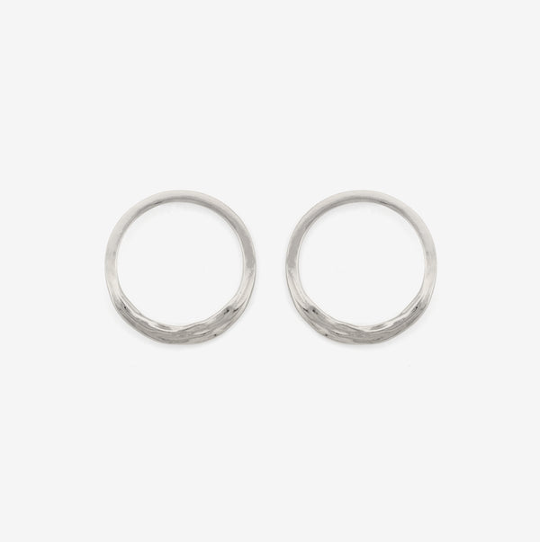 Ocean Breeze - Minimalistic Silver Earrings - Pargo Jewelry