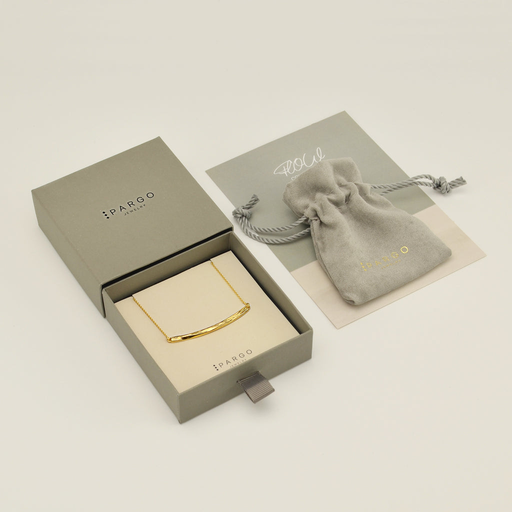 Pargo Jewelry - Minimal Gold Necklace