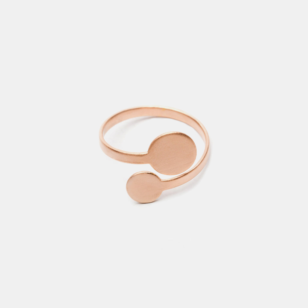 Minimalist Rose Gold Ring - Pargo Jewelry