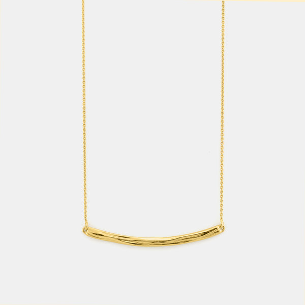Ocean Breeze - Minimalist Gold Necklace - Pargo Jewelry