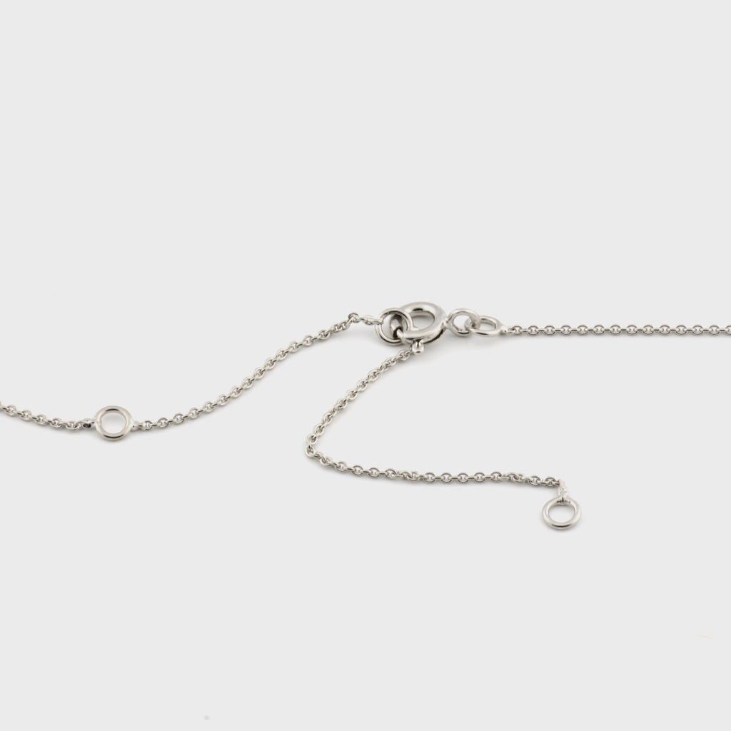 Ocean Breeze - Minimalist Silver Necklace - Pargo Jewelry