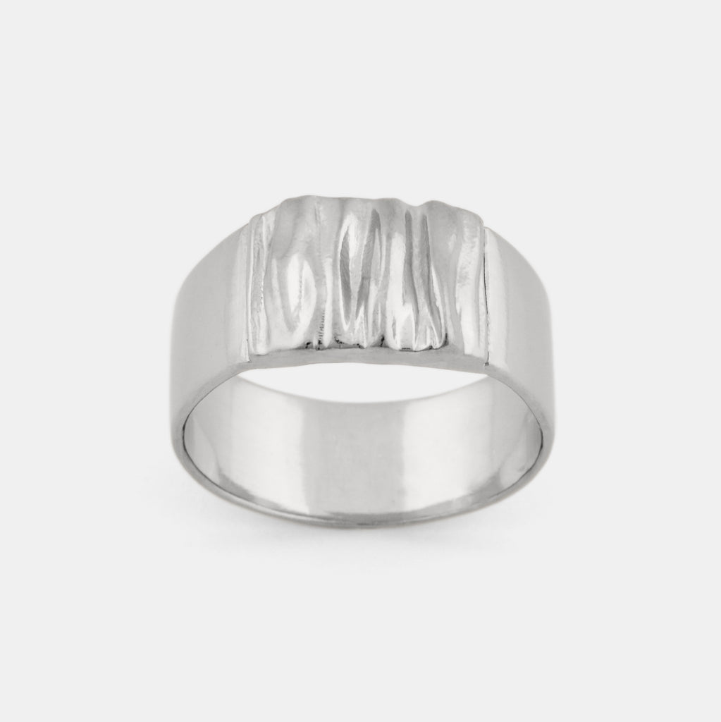 Flow Ring-Contemporary Silver Ring - Pargo Jewelry