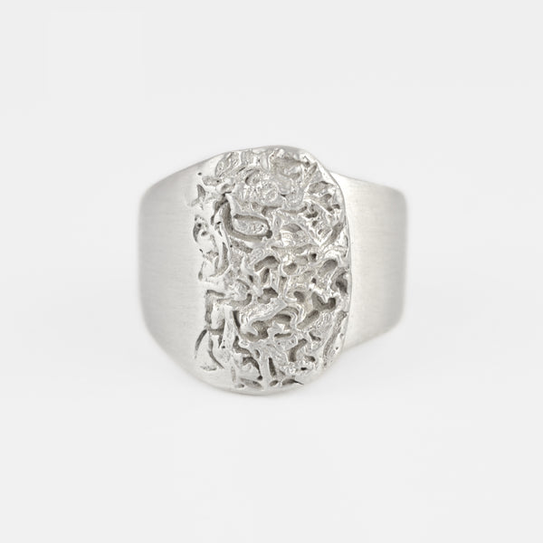 Contemporary Ring in Silver - Pargo Jewelry