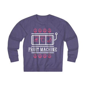 Women's Fruit Machine Sweatshirt, Purple Heather