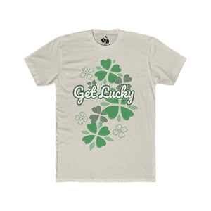 Men's Get Lucky T-Shirt - Solid Sand