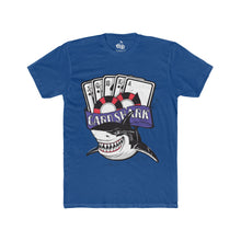 Load image into Gallery viewer, Men's Card Shark T-Shirt - Solid Royal