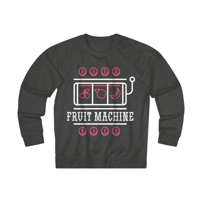 Women's Fruit Machine Sweatshirt, Charcoal Heather