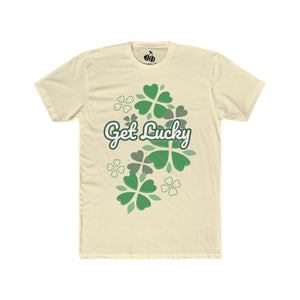 Men's Get Lucky T-Shirt - Solid Natural