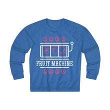 Load image into Gallery viewer, Women's Fruit Machine Sweatshirt, Royal Heather