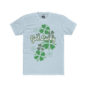 Men's Get Lucky T-Shirt - Solid Light Blue