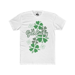 Men's Get Lucky T-Shirt - Solid White