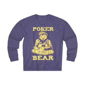 Women's Poker Bear Sweatshirt