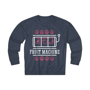 Women's Fruit Machine Sweatshirt, Denim Heather
