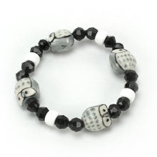 Load image into Gallery viewer, Owl Bead Bracelet