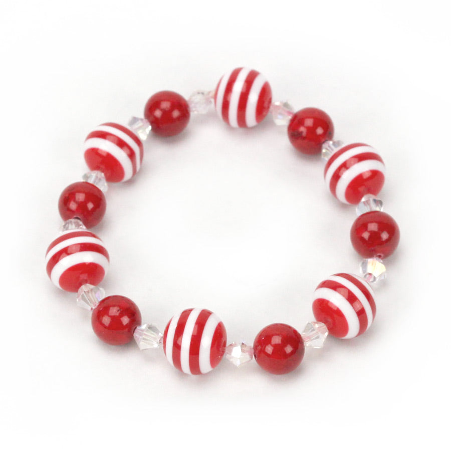 Peppermint Bead Bracelet