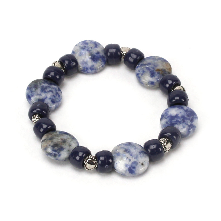 Stepping Stone Bead Bracelet