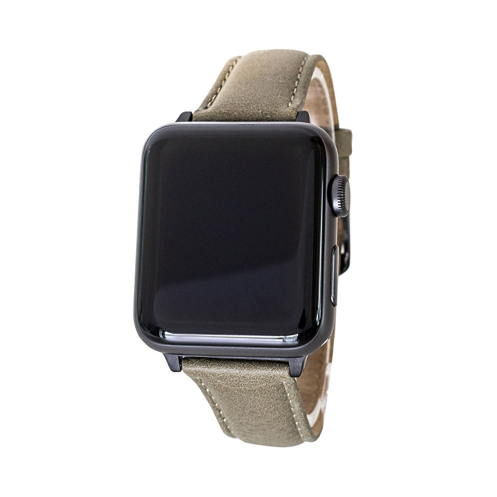 Waidzeit Lederarmband Lederband echtes Leder Smartwatch Band Apple watch Band Austrian Design Geschenk für Sie und Ihn Geschenksidee Applewatchband