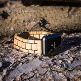 Smartwatch Uhrenband aus Barrique Weinfass