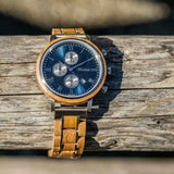 Whisky Swiss Mountain Blue Herrenuhr